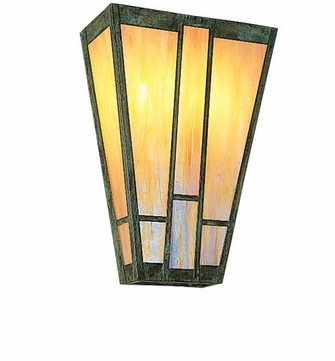 Arroyo Craftsman AS-8 Asheville Craftsman Wall Sconce - 8 inches wide