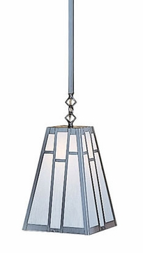 Arroyo Craftsman ASH-12 Asheville Craftsman Stem Mount Pendant Light - 12 inches wide