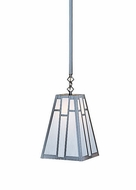 Arroyo Craftsman ASH-8 Asheville Craftsman Stem Mount Pendant Light - 8 inches wide
