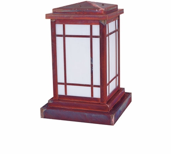 Arroyo Craftsman AVC-6 Avenue Craftsman Outdoor Pier Mount - 10.5 inches tall