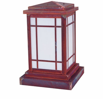 Arroyo Craftsman AVC-8 Avenue Craftsman Outdoor Pier Mount - 13.5 inches tall