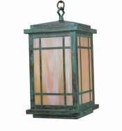 Arroyo Craftsman AVH-8 Avenue Craftsman Outdoor Pendant Light - 50.5 inches tall