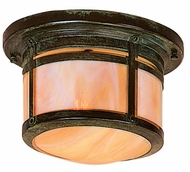 Arroyo Craftsman BCM-8 Berkeley Outdoor Flush Mount Ceiling Light - 9.875 inches wide