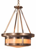 Arroyo Craftsman BCMH-20 Berkeley Craftsman Pendant Light