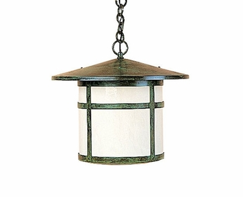 Arroyo Craftsman BH-11 Berkeley Outdoor Chain Hung Pendant Light - 10.125 inches tall