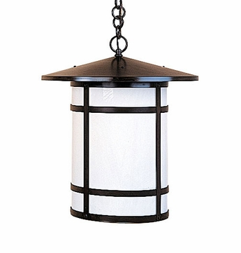 Arroyo Craftsman BH-14L Berkeley Outdoor Chain Hung Pendant Light - 16.625 inches tall