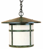 Arroyo Craftsman BH-17 Berkeley Outdoor Chain Hung Pendant Light - 14.875 inches tall
