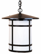Arroyo Craftsman BH-17L Berkeley Outdoor Chain Hung Pendant Light - 20.125 inches tall