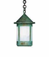 Arroyo Craftsman BH-6 Berkeley Outdoor Chain Hung Pendant Light - 10.125 inches tall