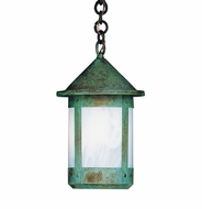 Arroyo Craftsman BH-7 Berkeley Outdoor Chain Hung Pendant Light - 12.375 inches tall