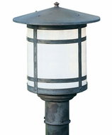 Arroyo Craftsman BP-11L Berkeley Outdoor Lighting Post - 11.875 inches tall