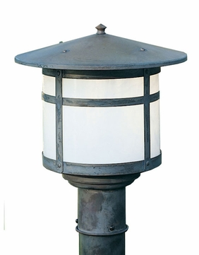 Arroyo Craftsman BP-14 Berkeley Outdoor Lighting Post - 11.125 inches tall