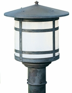 Arroyo Craftsman BP-17L Berkeley Outdoor Lighting Post - 18.25 inches tall