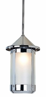 Arroyo Craftsman BSH-7L Berkeley Indoor/Outdoor Rod Hung Pendant Light - 12.875 inches tall