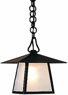 Arroyo Craftsman CH-8 Carmel Craftsman Outdoor Chain Hung Pendant - 8 inches wide