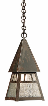 Arroyo Craftsman DH-6 Dartmouth Craftsman Indoor/Outdoor Pendant Light - 7.5 inches wide