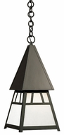 Arroyo Craftsman DH-8 Dartmouth Craftsman Indoor/Outdoor Pendant Light - 10.125 inches wide