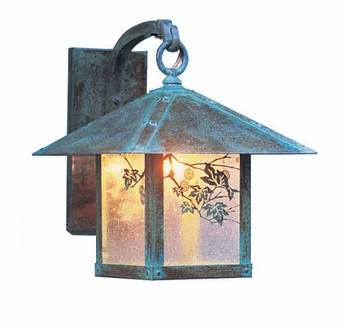 Arroyo Craftsman EB-12 Evergreen Craftsman Outdoor Wall Sconce - 15.125 inches tall