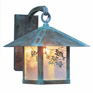 Arroyo Craftsman EB-16 Evergreen Craftsman Outdoor Wall Sconce - 19.5 inches tall