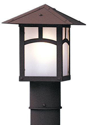 Arroyo Craftsman Ep 7 Evergreen Outdoor Light Post Inches Wide