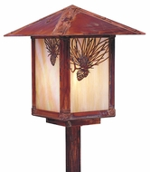 Arroyo Craftsman ESP-9 Evergreen Craftsman Landscape Light - 21.5 inches tall