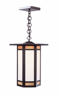 Arroyo Craftsman ETH-11 Etoile Craftsman Outdoor Hanging Pendant Light - 10.875 inches wide