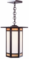 Arroyo Craftsman ETH-14 Etoile Craftsman Outdoor Hanging Pendant Light - 14.25 inches wide