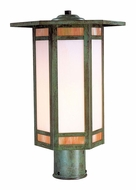 Arroyo Craftsman ETP-11 Etoile Craftsman Outdoor Post Light - 10.875 inches wide