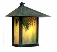 Arroyo Craftsman EW-12 Evergreen Craftsman Outdoor Wall Sconce - 13 inches tall