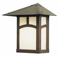 Arroyo Craftsman EW-9 Evergreen Craftsman Outdoor Wall Sconce - 10.75 inches tall