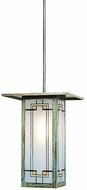 Arroyo Craftsman FSH-9L Franklin Craftsman Indoor/Outdoor Pendant Light - 35.25 inches tall