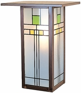 Arroyo Craftsman FW-9L Franklin Craftsman Outdoor Wall Sconce - 12 inches tall