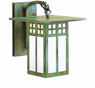 Arroyo Craftsman GB-9 Glasgow Craftsman Outdoor Wall Sconce - 12.125 inches tall