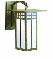 Arroyo Craftsman GB-9L Glasgow Craftsman Outdoor Wall Sconce - 15.125 inches tall