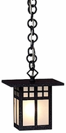 Arroyo Craftsman GH-6 Glasgow Craftsman Outdoor Hanging Pendant - 43.125 inches tall