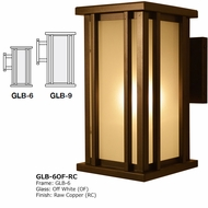 Arroyo Craftsman GLB Glencoe Exterior Wall Lighting