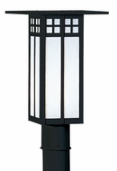 Arroyo Craftsman GP-9L Glasgow Craftsman Outdoor Light Post - 12 inches tall