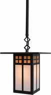 Arroyo Craftsman GSH-9 Glasgow Craftsman Outdoor Hanging Pendant - 42.125 inches tall