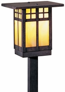 Arroyo Craftsman GSP-6 Glasgow Craftsman Landscape Light - 17.375 inches tall