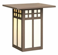 Arroyo Craftsman GW-18 Glasgow Craftsman Outdoor Wall Sconce - 18 inches tall