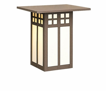 Arroyo Craftsman GW-9 Glasgow Craftsman Outdoor Wall Sconce - 9 inches tall