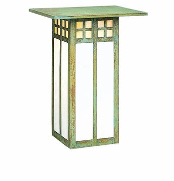 Arroyo Craftsman GW-9L Glasgow Craftsman Outdoor Wall Sconce - 12 inches tall