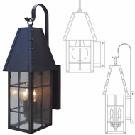 Arroyo Craftsman HAB Hampton Outdoor Light Sconce