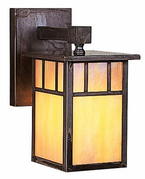 Arroyo Craftsman HB-4LW Huntington Craftsman Outdoor Wall Sconce - 8.625 inches tall