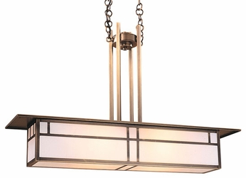Arroyo Craftsman HCM-35 Huntington Craftsman Kitchen Island Light - 35 inches wide