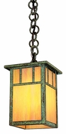 Arroyo Craftsman HH-4L Huntington Craftsman Outdoor Hanging Pendant - 7.625 inches tall