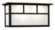 Arroyo Craftsman HS-14S Huntington Craftsman Outdoor Wall Sconce - 13.5 inches wide
