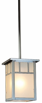Arroyo Craftsman HSH-4L Huntington Craftsman Outdoor Hanging Pendant - 6.5 inches tall