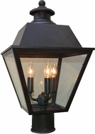 Arroyo Craftsman INP-10MR Inverness Exterior 10  Lamp Post Light Fixture
