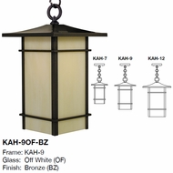 Arroyo Craftsman KAH Katsura Asian Exterior Pendant Light Fixture